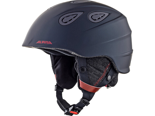 Alpina Grap 2.0 L.E. Casco de esquí, nightblue-bordeaux matt